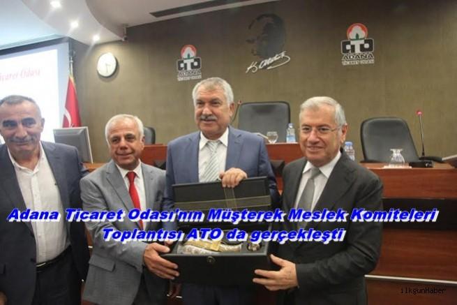 Adana Ticaret Odası'nın Müşterek Meslek Komiteleri Toplantısı ATO da gerçekleşti