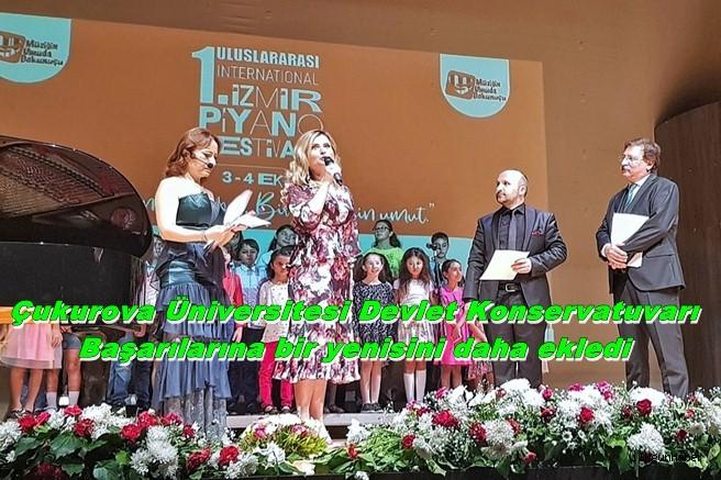 Çukurova Üniversitesi Devlet Konservatuvarı başarılarına bir yenisini daha ekledi