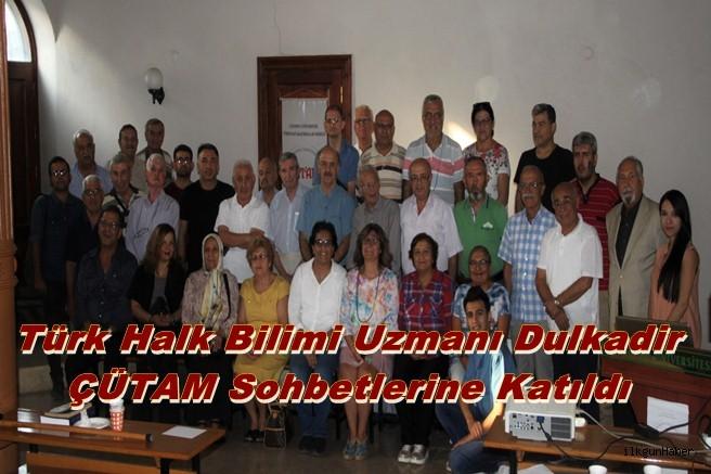 Türk Halk Bilimi Uzmanı Dulkadir ÇÜTAM Sohbetlerine Katıldı