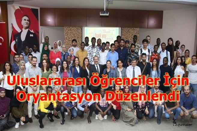 Uluslararası Öğrenciler İçin Oryantasyon Düzenlendi