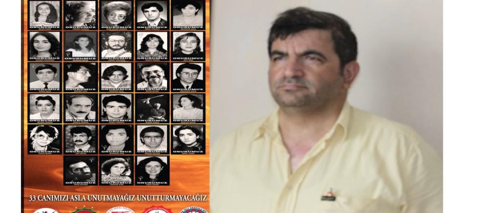 Adana'da  2 Temmuz Sivas katliamı anma etkinliğine katılma daveti