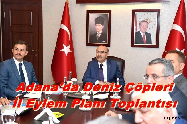 Adana'da Deniz Çöpleri İl Eylem Planı Toplantısı