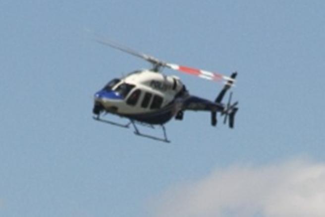 Adana'da Havadan Helikopterle denetim