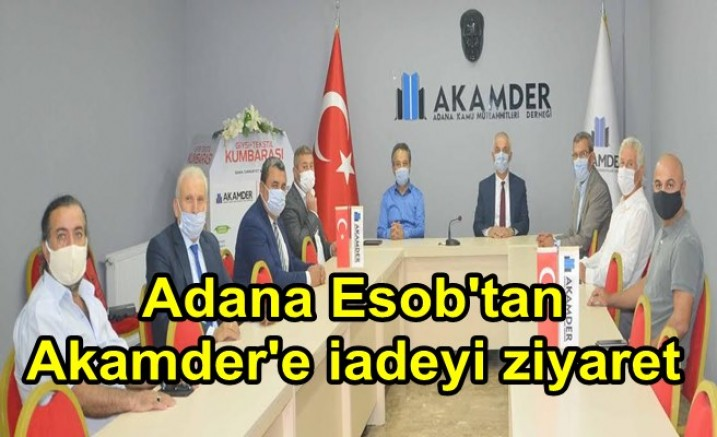 Adana Esob'tan Akamder'e iadeyi ziyaret