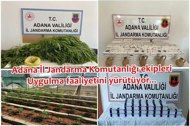 Adana İl Jandarma Komutanlığı ekipleri uygulma faaliyetini yürütüyor