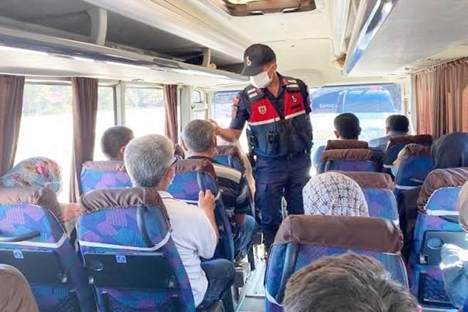 Adana il jandarma komutanlığınca COVİD-19 denetimleri