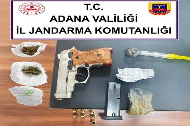 Adana İl Jandarma Komutanlığından huzur ve güven denetimi