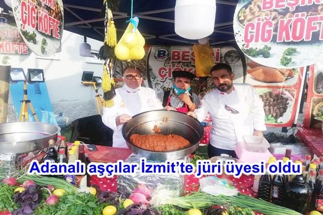Adanalı aşçılar İzmit'te jüri üyesi oldu