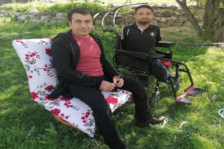 Ağrı Doğubayazıt'ta Engelliler haftasında engelliden mesaj