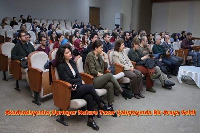 Akademisyenler,Springer Nature Yazar Çalıştayında Bir Araya Geldi