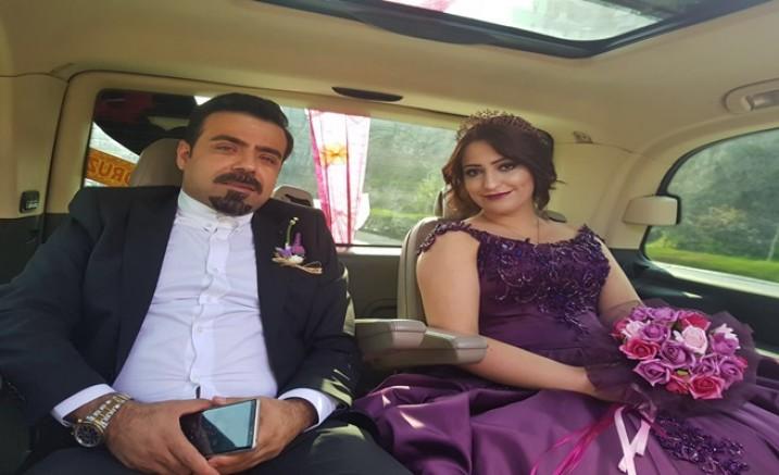 Balcalı'nın güzel doktoru  evliliğe ilk adımı attı