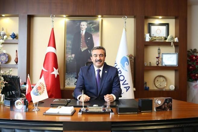 Başkan Çetin'den 29 Ekim Cumhuriyet Bayramı Mesajı