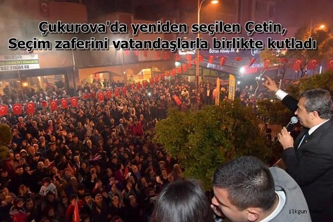 Başkan Çetin, Seçim zaferini vatandaşlarla birlikte kutladı