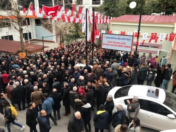 Başkan Çetin,Semt Kreşlerinden yedincisinin açılışını gerçekleştirdi