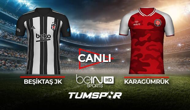 Beşiktaş Karagümrük maçı canlı izle! BeIN Sports BJK Karagümrük maçı canlı skor takip!