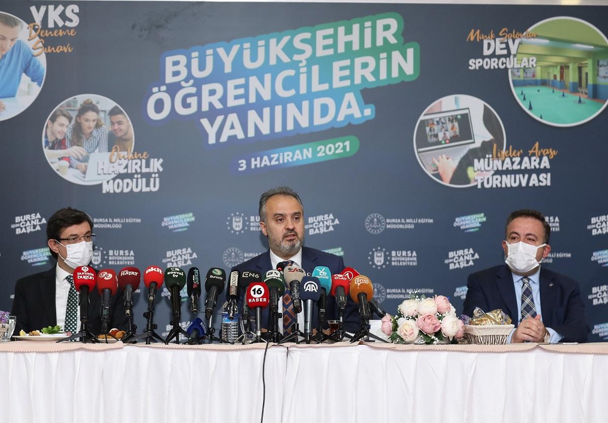 Bursa Büyükşehir'den eğitim atağı