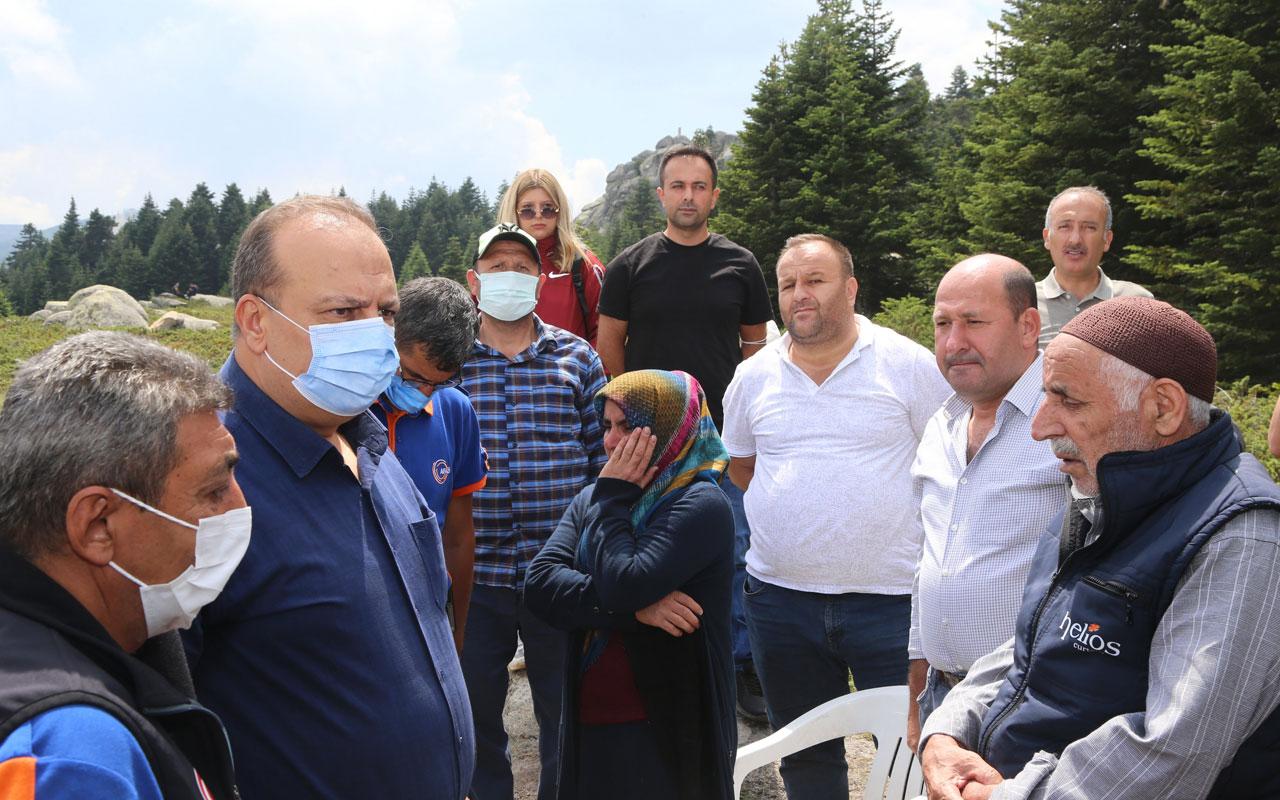 Bursa Uludağ'da kaybolan kadını arama çalışmaları sürüyor