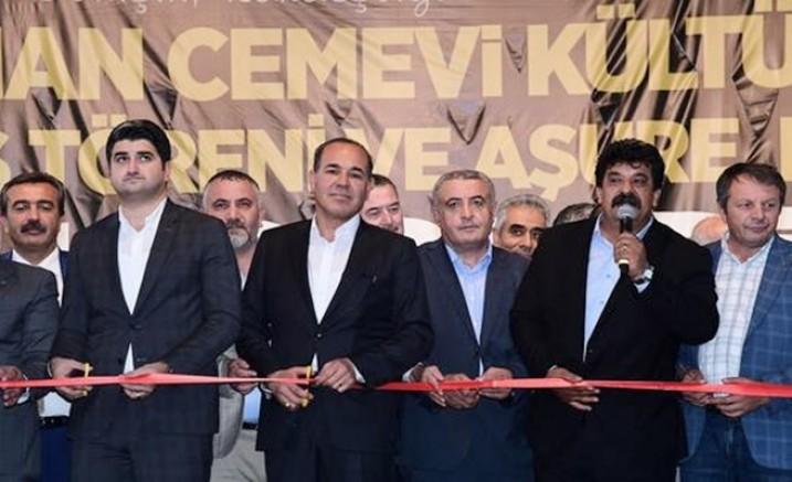 Ceyhan Cemevinin açılış ve Aşure töreni gerçekleşti