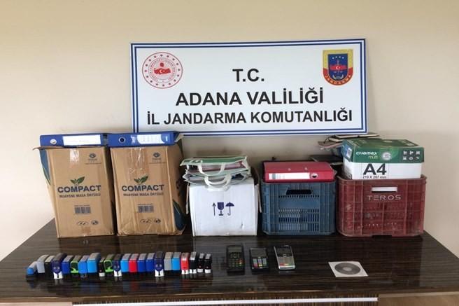 Ceyhan'da sahte fatura düzenleyen kişi yakalandı