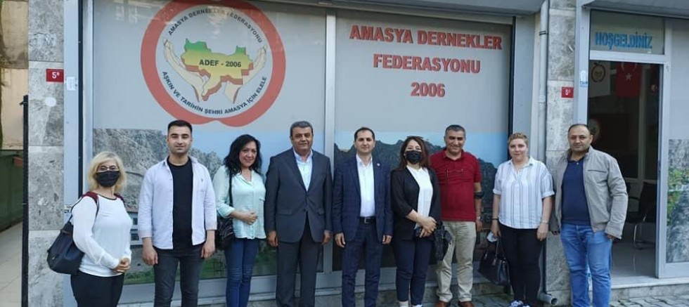 CHP Eyüpsultan İlçe  ADEF'i Ziyaret Etti