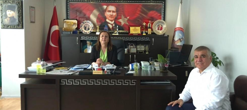 CHP'li Ramis Topal ,Başkan Özyol'u Ziyaret Etti