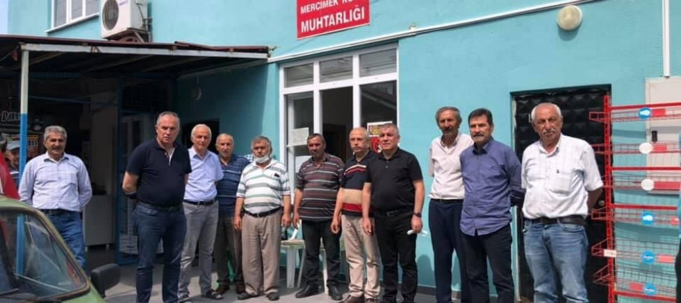 CHP'li Ramis Topal, vatandaşla buluştu, talep ve istekleri dinledi