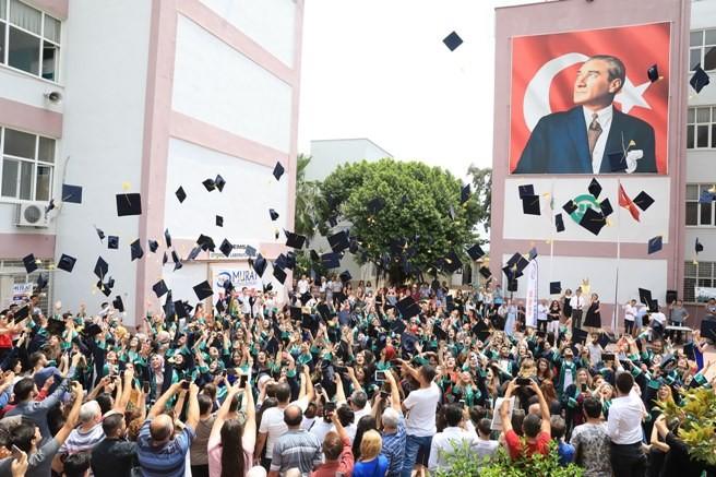 Çukurova Üniversitesi Meslek Yüksekokullarında Mezuniyet Heyecanı Son Buldu