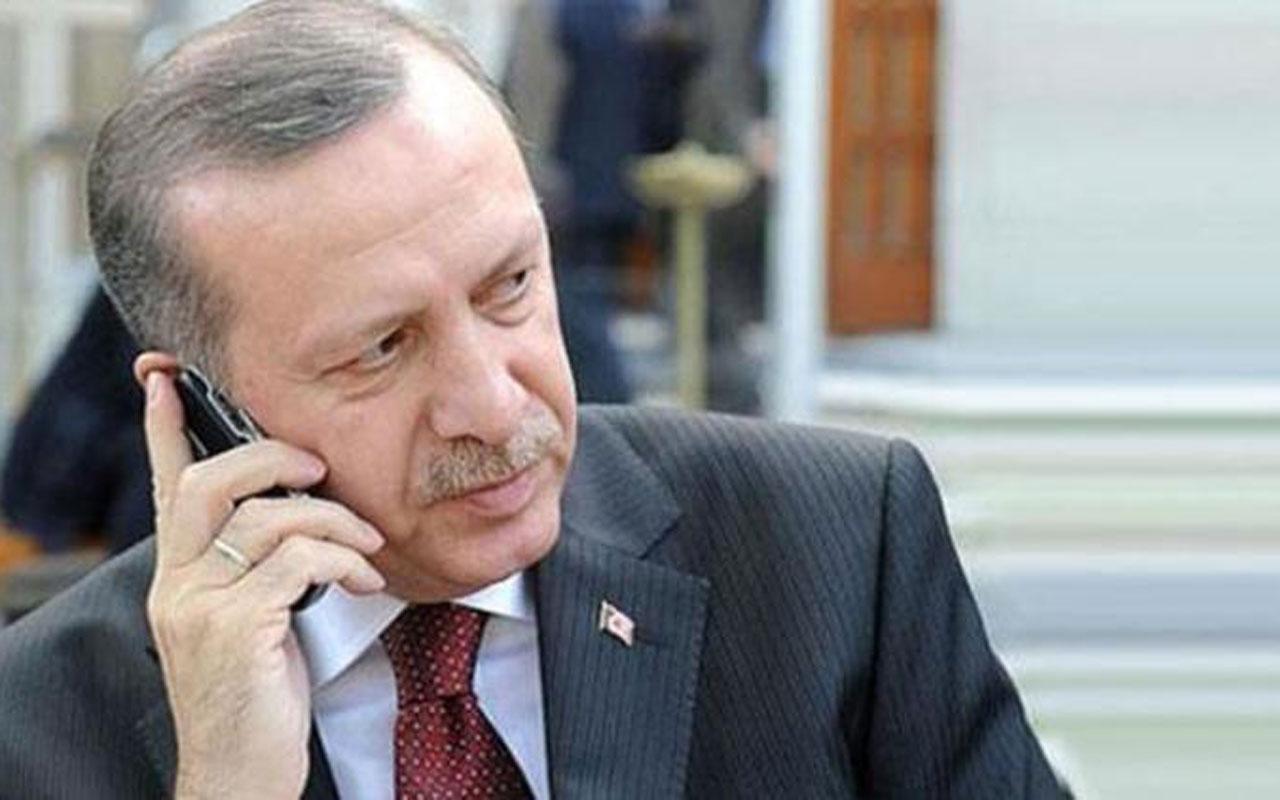 Cumhurbaşkanı Erdoğan'dan filenin sultanlarına telefonla tebrik