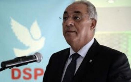 DSP Genel Başkanı Önder Aksakal ,Seçim sonucu degerlendirmesinde bulundu