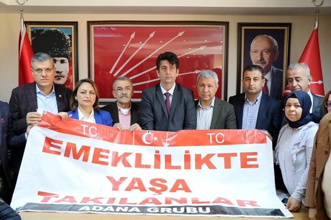 EYT mağdurları Adana'da Millet İttifakı adaylarını destekleyecek
