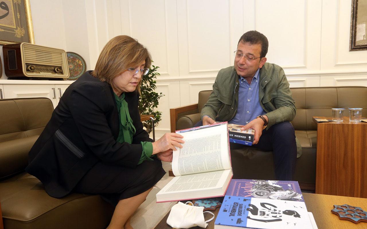 Gaziantep'te İmamoğlu, Başkan Şahin'i ziyaret etti