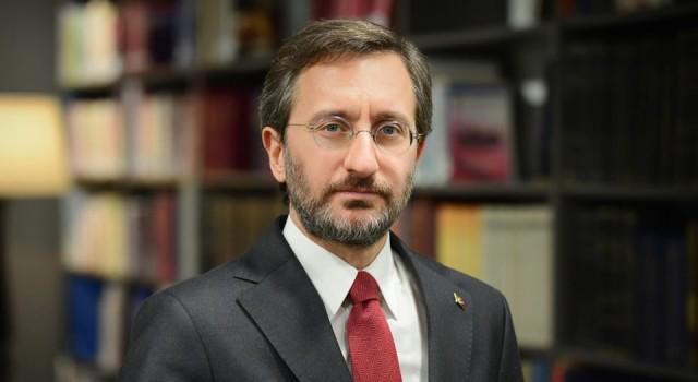 İletişim Başkanı Altun, habercilere saldırıyı kınadı