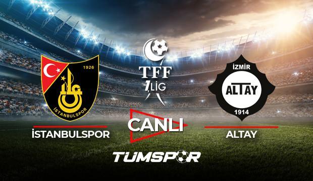 İstanbulspor Altay maçı canlı izle! BeIN Sports TFF 1. Lig Play Off maçı canlı skor takip!