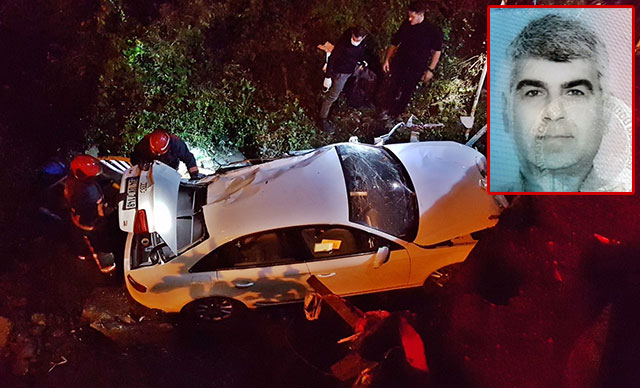 Köprüden dere yatağına düşen otomobilin sürücüsü öldü