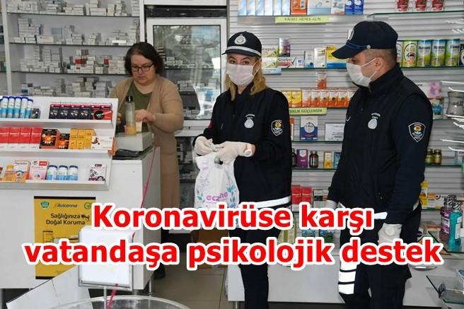Koronavirüse karşı vatandaşa psikolojik destek