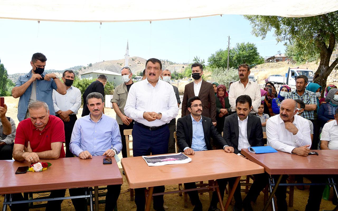 Malatya Doğanşehir'e Başkan Gürkan'dan ziyaret