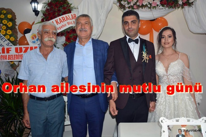 Orhan ailesinin mutlu günü