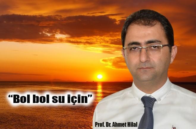 """Prof. Dr. Hilal, """"Sağlık sorunu yaşamamak için sıcaktan korunun"""""""
