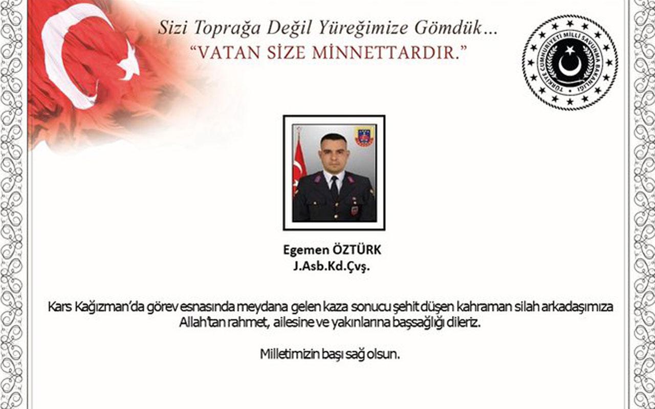 Şehit Kıdemli Başçavuş İzmir'de toprağa verilecek