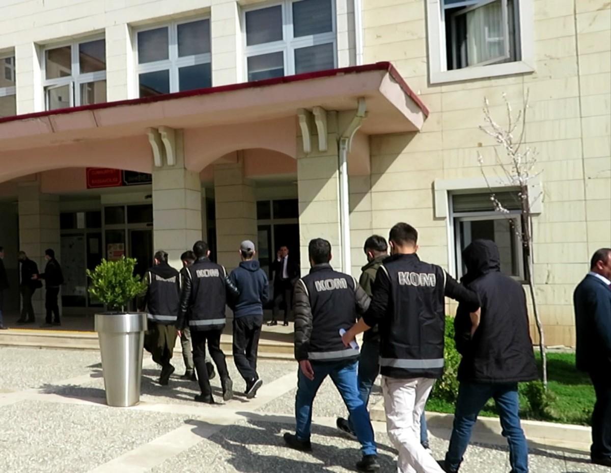 Siirt'te çok sayıda suça karışan 4 kişi tutuklandı