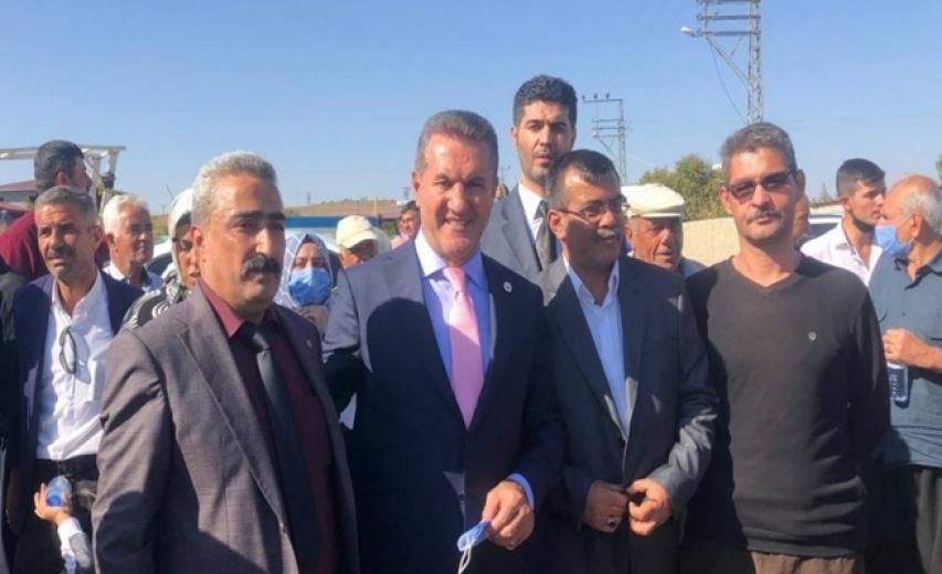 TDP'li Sarıgül, Kilis  Musabeyli  Yedigöz Köyün'e ziyarette bulundu