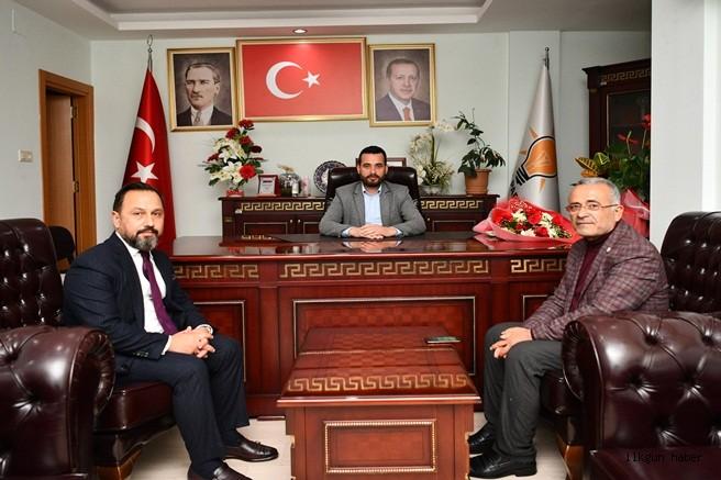 Uludağ'dan Ak Parti İlçe Başkanı Ceylan'a Teşekkür ziyareti