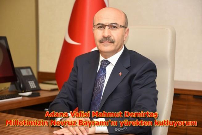 Vali Demirtaş,Milletimizin Nevruz Bayramı'nı yürekten kutluyorum