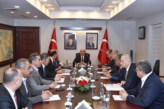 Vali Demirtaş'tan,Tarıma Dayalı İhtisas Organize Sanayi Bölgesi değerlendirme toplantısı