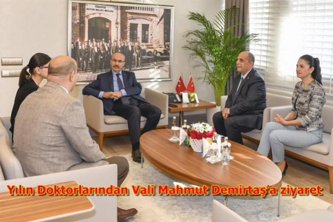 Yılın Doktorlarından Vali Mahmut Demirtaş'a ziyaret